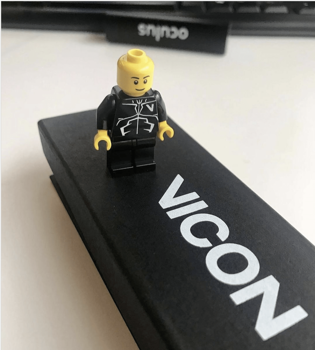 Marketing Promotional Item - Lego Man - Vicon